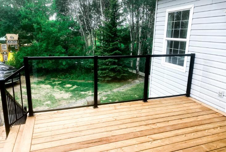 Newly installed decks